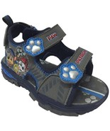 NEW NWT Boys Toddler Sandals Paw Patrol Size 8 Chase and Marshall - $22.99