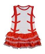 Unique Baby Girls Baseball Dress (3-4 Years) - $21.59