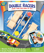 MasterPieces Works of Ahhh... Double Racers Wood Paint Kit #21411 - $24.99