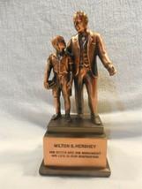 Vintage Hershey Milton S Hershey Bronze Award Statue - $39.95