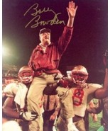 Bobby Bowden signed Florida State Seminoles 8x10 Photo Carryoff - $33.95