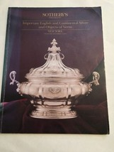 Sotheby's Auction Catalog / Important English&Continental Silver / Octob... - $19.80