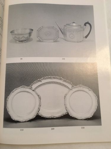 Sotheby's Auction Catalog / English And Continental Silver / February 1989
