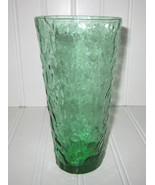 1  Tall Vintage Morgan towne Green Crinkle tall tumbler/Tea glass,charmi... - $20.00