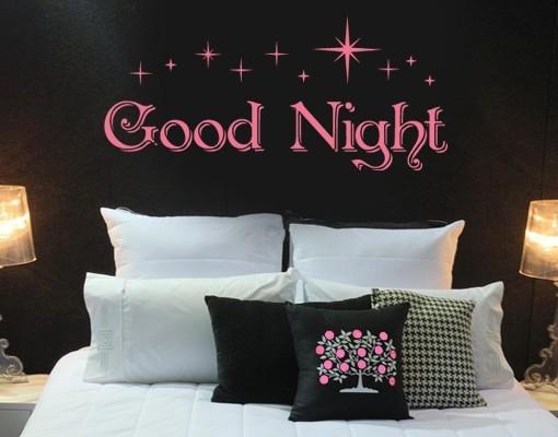 Good Night Wall Decal Sticker Mural Art Home Decor Decals