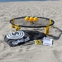Spikeball Combo Meal Game Set Net Bag BackPack Balls Volleyball Beach 4 ... - $99.99