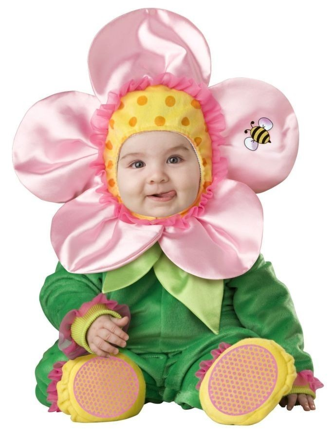 BABY BLOSSOM INFANT/TODDLER COSTUME 12-18 MOS Lil Flower Plant HALLOWEEN By InCh