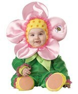 BABY BLOSSOM INFANT/TODDLER COSTUME 12-18 MOS Lil Flower Plant HALLOWEEN... - €40,82 EUR