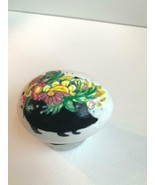 REAL Egg Handpainted Blown Egg Animal Silhouette Floral decor Easter / H... - $6.25