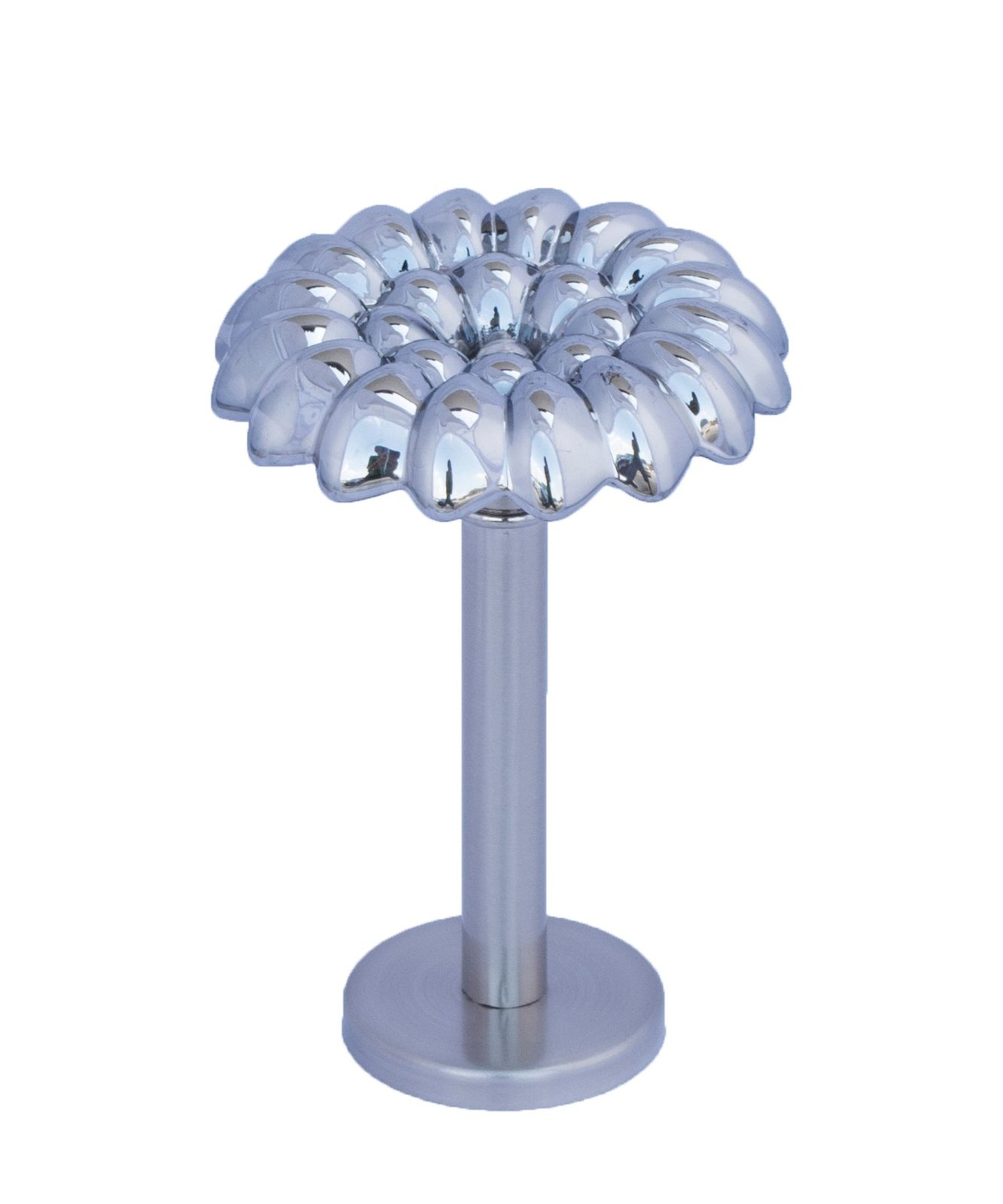 Urbanest Vetro Designer Decor Mercury Glass Drapery Medallion Holdback, 1pcs