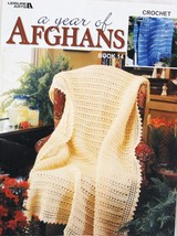 Leisure Arts A Year of Afghans Crochet Booklet No. 3491 Book 14  2003 - $8.50