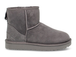 Ankle boot UGG Australia 6222 G in grey suede leather - Women's Shoes - €155,64 EUR