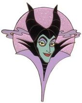 Disney Auctions (P.I.N.S.) - Maleficent Head LE 500 pin/pins - $28.05