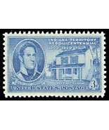 1950 3c Indiana Territory Scott 996 Mint F/VF NH - ₨64.38 INR