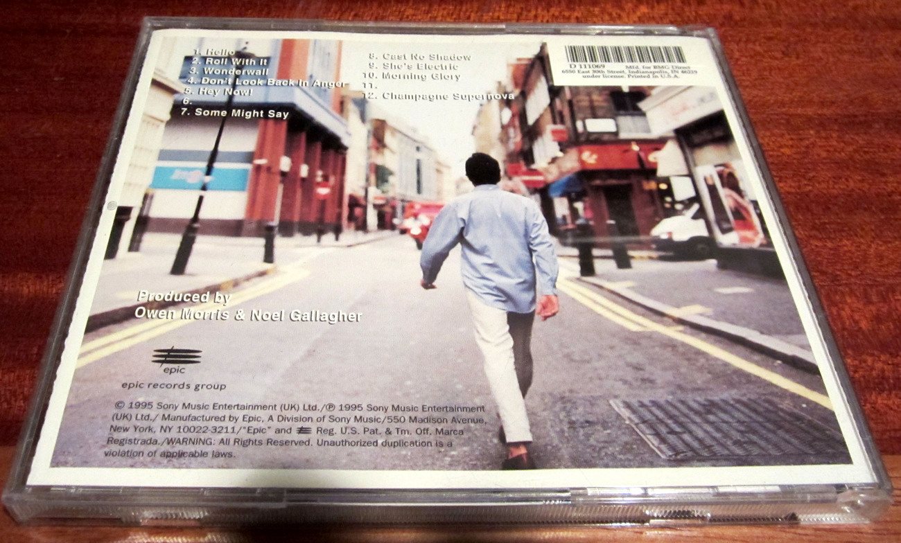 CD (What's The Story) Morning Glory by Oasis (c) 1995