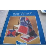 Sew What?! Sewing Book - $4.50
