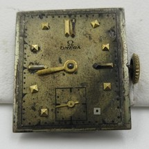 Vintage  Omega Men's Watch  OXG Movement  17 Jewels Swiss For Parts Or R... - $102.85