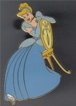 Disney Cinderella Auctions (P.I.N.S.)  in Blue Dress full body  pin/pins - $33.85