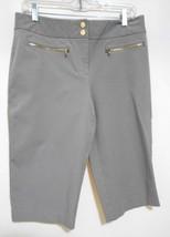 Alfani Beige  Cotton Blend Capris Crops Pants  Size 8 - $12.53