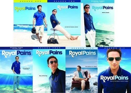 Royal Pains The Complete Series Seasons 1-6 [DVD Sets New]