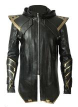 Avengers Endgame Ronin Jeremy Barton Hoodie Jacket/ Pants Real Leather Costume image 3