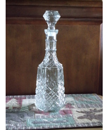 BEAUTIFUL TALL WEXFORD DECANTER by ANCHOR HOCKING - $39.99