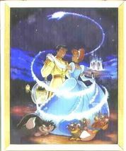 Disney Cinderella and the prince dancing Stained Glass - $199.99