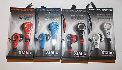 Mental Beats Xtantic Earbuds Cell Phone And 50 Similar Items