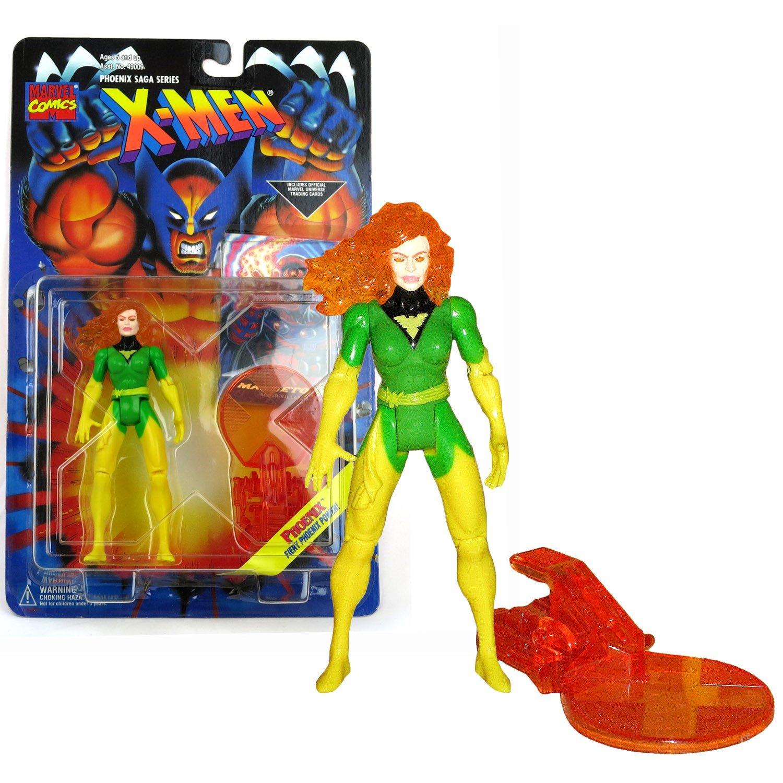 Toy Biz Year 1995 Marvel Comics X-Men Phoenix Saga Series 5 Inch Tall Action Fig