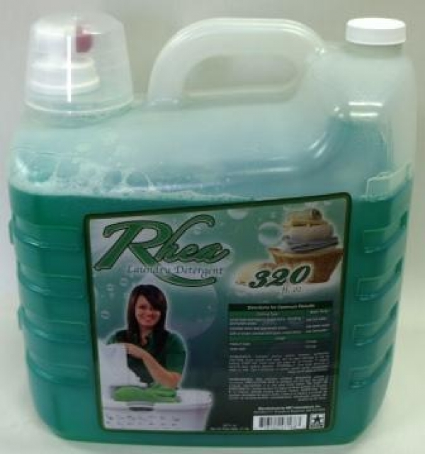 Rhea Laundry Detergent  2.5 Gallons (half the size of 5 gallons, 320 oz) $12.99