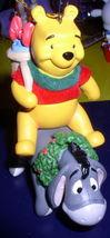 Disney Eeyore and  Winnie The Pooh Ornament Figurine MINT - $19.99