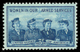 1952 3c Women in Our Armed Forces Scott 1013 Mint F/VF NH - $0.99