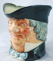 """Royal Doulton England Character Toby Jug """"Parson Brown"""" Large Size 6 1/2 Pitcher - $98.90"""