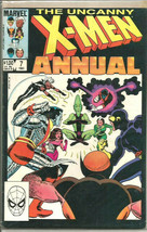 Uncanny X-men Annual #7 VF+/NM- 1983 Comics 1st Print & Series Impossible Man - £8.75 GBP