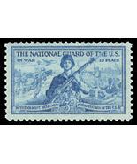 1953 3c The National Guard, War & Peace Scott 1017 Mint F/VF NH - $1.22 CAD