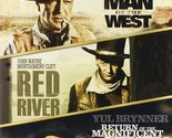 Man of the West/ Red River/ Return of the Magnificent Seven [DVD] [2014]