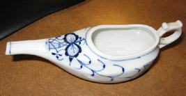 Blue Onion Porcelain Baby Invalid Feeder Germany 3617 - $24.99