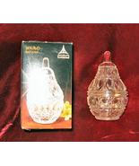 MINT Anna Hutte Lead Crystal Star Pear Box Germany - $19.99