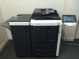 Konica Minolta Bizhub 601 Copier Printer Scanner & Staple LOW 286k total pages - $2,574.00