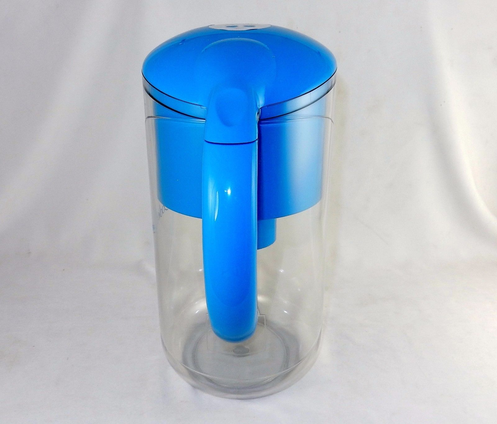 Digital Water Filtration Pitcher, 2 Qt, Code Blue, Removes Poisons, Cleans Water