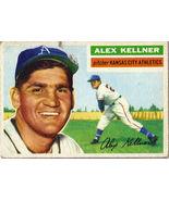 Topps #176 Alex Kellner baseball card 1956  - $20.00