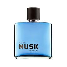 Avon MUSK MARINE EDT Eau de Toilette Spray 2.5 fl.oz 75 ml  - $13.06