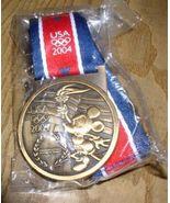 Disney Mickey Mouse  Gold  Lanyard Very HTF Pin/Pins - $19.99