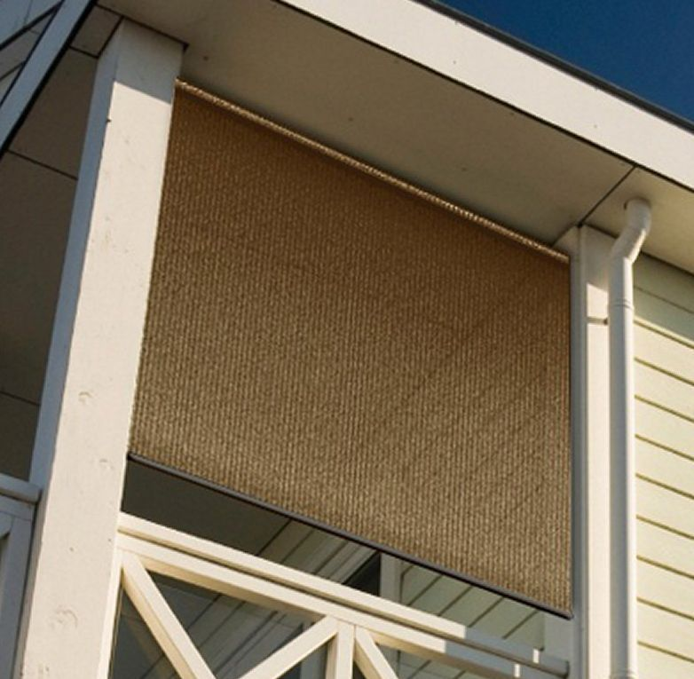 Outdoor Blinds And Shades Patio Privacy Roll Up Vertical