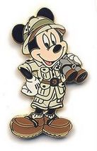 Disney Mickey Mouse Safari Mickey with Binoculars  pin/pins - $14.50