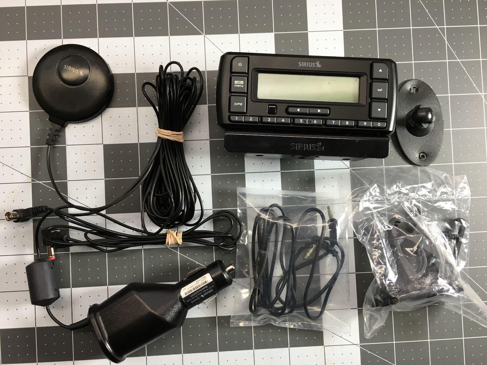 XM XpressEZ Replacement Satellite Radio Receiver ONLY NO CABLES XPRESS EZ E-Z