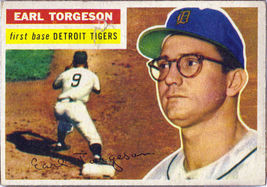 Topps #147  Earl Torgeson baseball card 1956  - $15.00