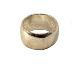 Wedding Band Silver Unisex Vintage Ring    - €16,27 EUR