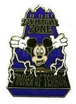 Disney Mickey Mouse Twilight Zone Tower of Terror ride at MGM pin/pins - $14.50