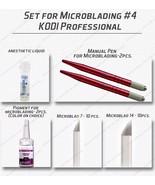 Set Microblading kit  eyebrow tattoo permanet makeup - $23.76+